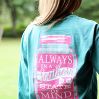 Jadelynn Brooke Southern State of Mind Long Sleeve Shirt