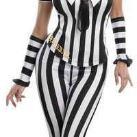 Womens Beetlejuice Corset Costume