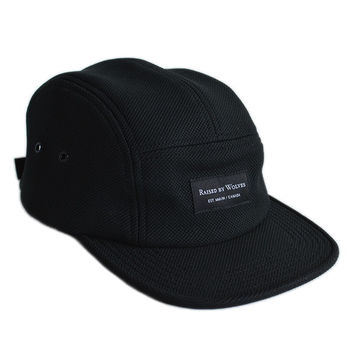 Algonquin Camp Cap - Diamondknit - Black