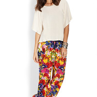 Floral Fiesta Woven Pants
