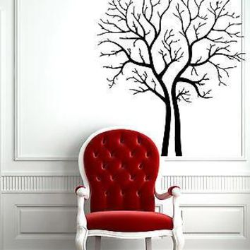 Wall Sticker Vinyl Decal Family Tree Floral Decor Unique Gift z571