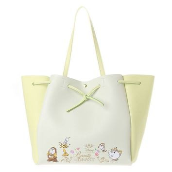 New Fashion Genuine Beauty And Beast Totes Bag Wallet Belle Princess Handbag Girls Cartoon Shoulder Bag For Girls Gifts