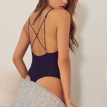 Out From Under Vivienne Strappy Bodysuit | Urban Outfitters
