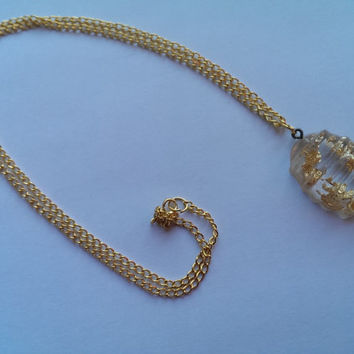 Fool's Gold Easter Egg Necklace (Beehive Style)