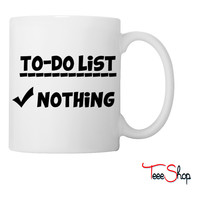 To-Do List Coffee & Tea Mug