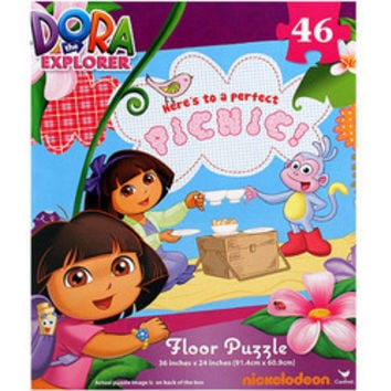 Dora the Explorer Floor Puzzle [Heres to a Perfect Picnic!]