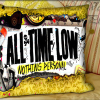 All Time Low Nothing Personal - Pillow Cover and Pillow Case.