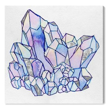 Oliver Gal Precious Stone Cluster II Canvas Wall Art | Nordstrom