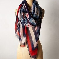 Veracruz Scarf by Anthropologie Red One Size Scarves