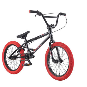 "2016 Haro Downtown 18"" Bmx Bike Black"
