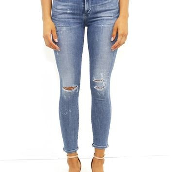 Citizens of Humanity Rocket Crop in Distressed | Boutique To You