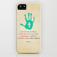 I will uphold you! iPhone & iPod Case by Peter Gross