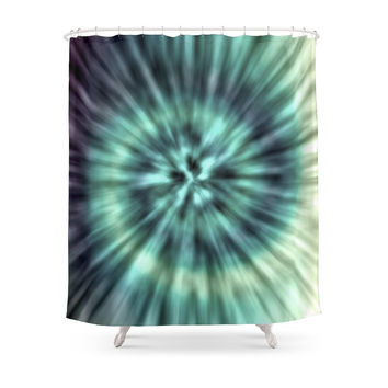 Society6 TIE DYE II Shower Curtains