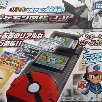 Takara Tomy Pokemon Pocket Monster Zukan Best Wishes Electronic Encyclopedia Pokedex