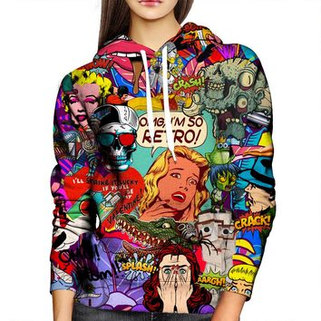 Who In The Hell Is Archie Womens Hoodie