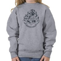 Hogwarts Crest Pull Over Sweatshirt from Zazzle.com