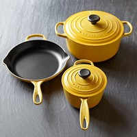 Le Creuset Signature Cast-Iron 5-Piece Cookware Set