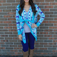 The Cardigan Blues Sweater