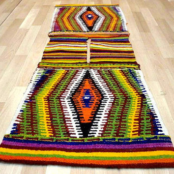 Antique Hand Woven Rug,Kilim Rug,Hand Knotted Wool Rug,Sack Rug,Turkish Rug,Anatolian Rug,Wool Mat,Home Decor,Decorative Rug,Perfect Gift