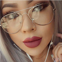M51 Classic Clear Glasses Optics Frame Mirror Vintage Sunglass Women Men Optical UV400 Aviation eyeglass Transparent