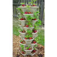 "12"" Stacking Planter 9 Tier Set"