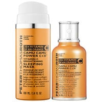 Sephora: Peter Thomas Roth : Camu Camu Power C x 30™ Vitamin C Brightening Duo : skin-care-sets-travel-value