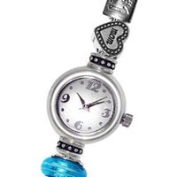 Reflection Beads Sterling Silver Watch - I Love You Mom Set - 3 Beads Included