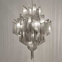 Greatful Chain Pendant Chandelier by Modern Designer Lighting