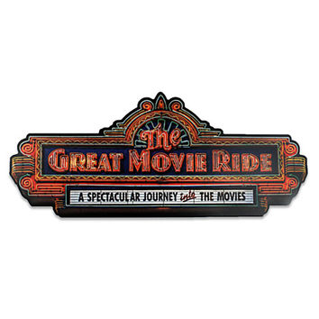 The Great Movie Ride Wall Sign | Disney Store