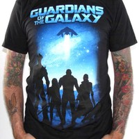 Guardians Of The Galaxy T-Shirt - Guardians Silhouette