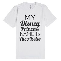 White T-Shirt | Funny Disney Joke Shirts