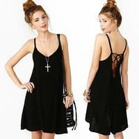shopping2013 — Backless dress that snow spins condole