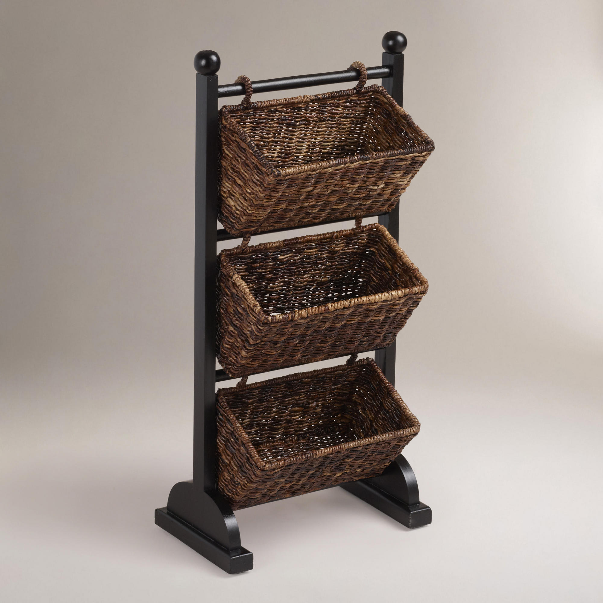 3 Tier Madras Cubby World Market From Cost Plus