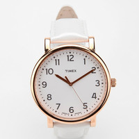 Timex Rose Gold Pearlized Strap Watch