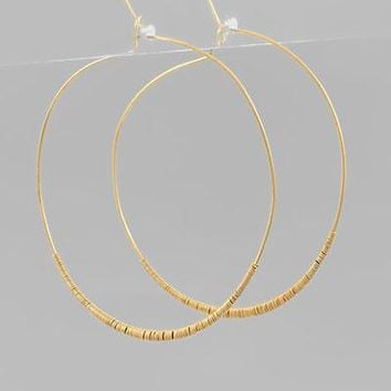 60mm Wire Wrapped Hoop