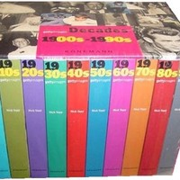 Getty Images Decades of the Twentieth Century Boxed Set