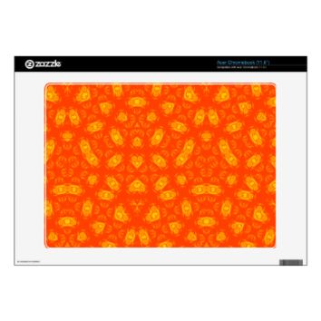 Abstract Pattern red yellow Skins For Acer Chromebook