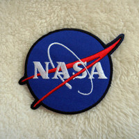 NASA Logo DIY Applique Iron on Patch