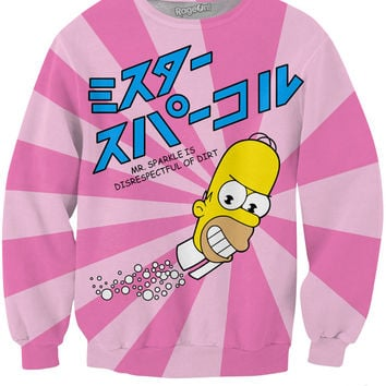 Mr.Sparkle Sweatshirt