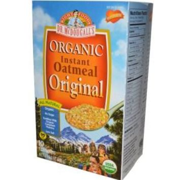 Dr. Mcdougall's Organic Original Instant Oatmeal - Case Of 7 - 9.9 Oz.