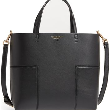 Tory Burch Block-T Mini Leather Tote | Nordstrom