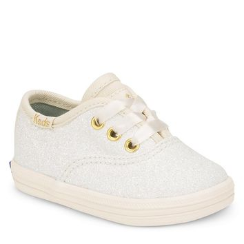 Keds for kate spade new york Girls' Glitter Crib Shoe Sneakers | Dillards