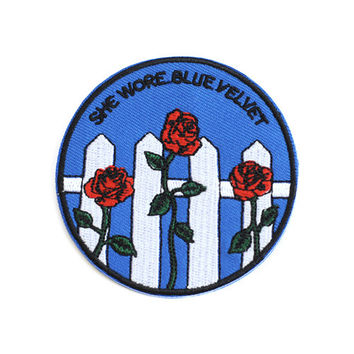 Blue Velvet Patch