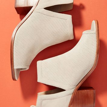 Anthropologie Perforated Ankle Booties