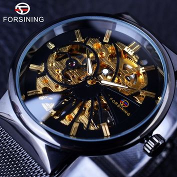 Forsining GMT985 Luxury Mechanical Skeleton Watch