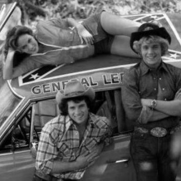 Dukes Of Hazzard poster Metal Sign Wall Art 8in x 12in Black and White