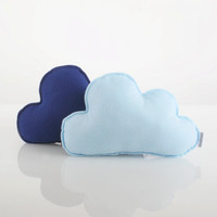 Cloud Pillow Set (2 Clouds: Baby Blue & Navy Blue)