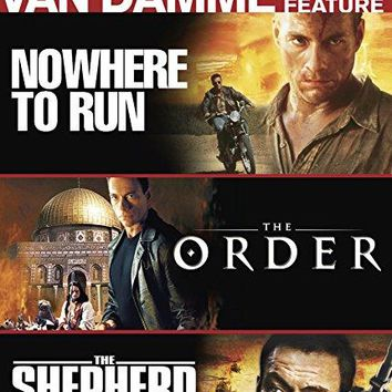 Jean-Claude Van Damme Triple Feature: (Nowhere to Run / The Order / The Shepherd: Border Patrol