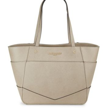 Karl Lagerfeld - Fara Faux Leather Tote Bag