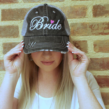 Bride Trucker Hat - 2 Colors